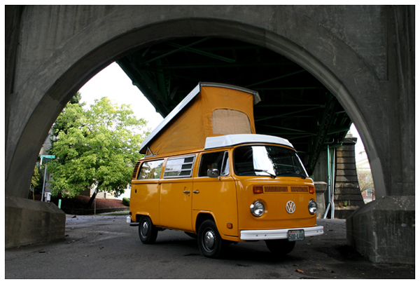 reason to wander vw bus