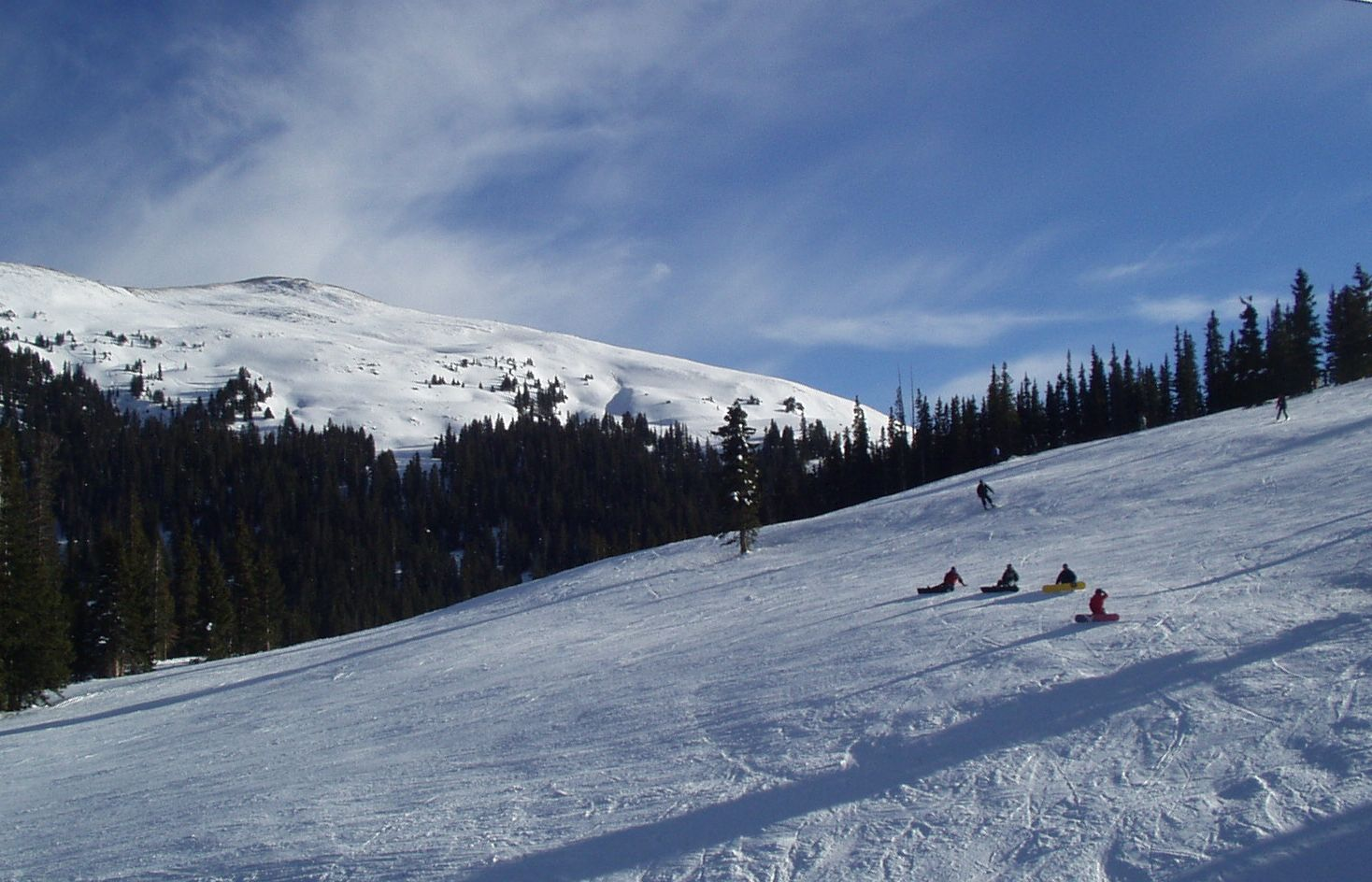 copper mountain, highpoint run