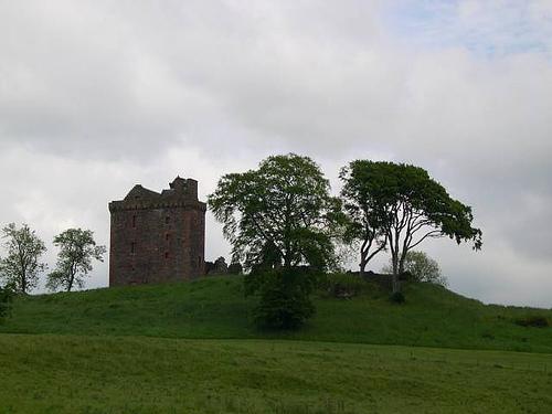 balvaird castle, scotland