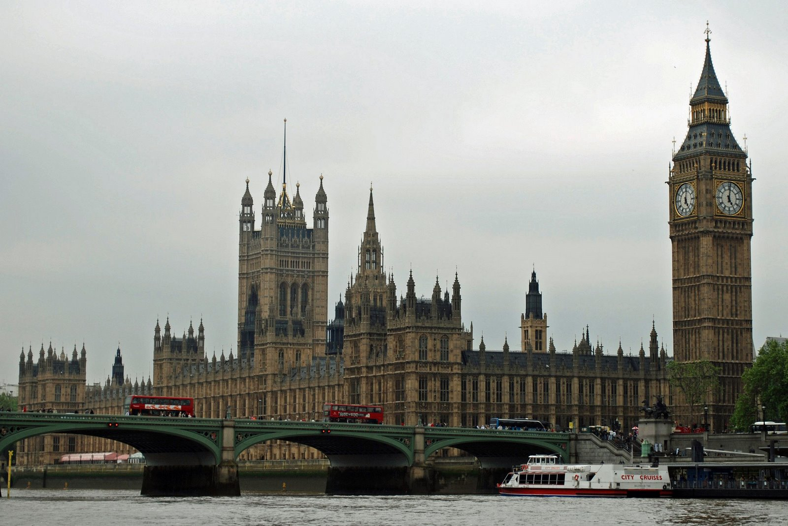 palace of westminster, or houses of parliament, and big ben, london