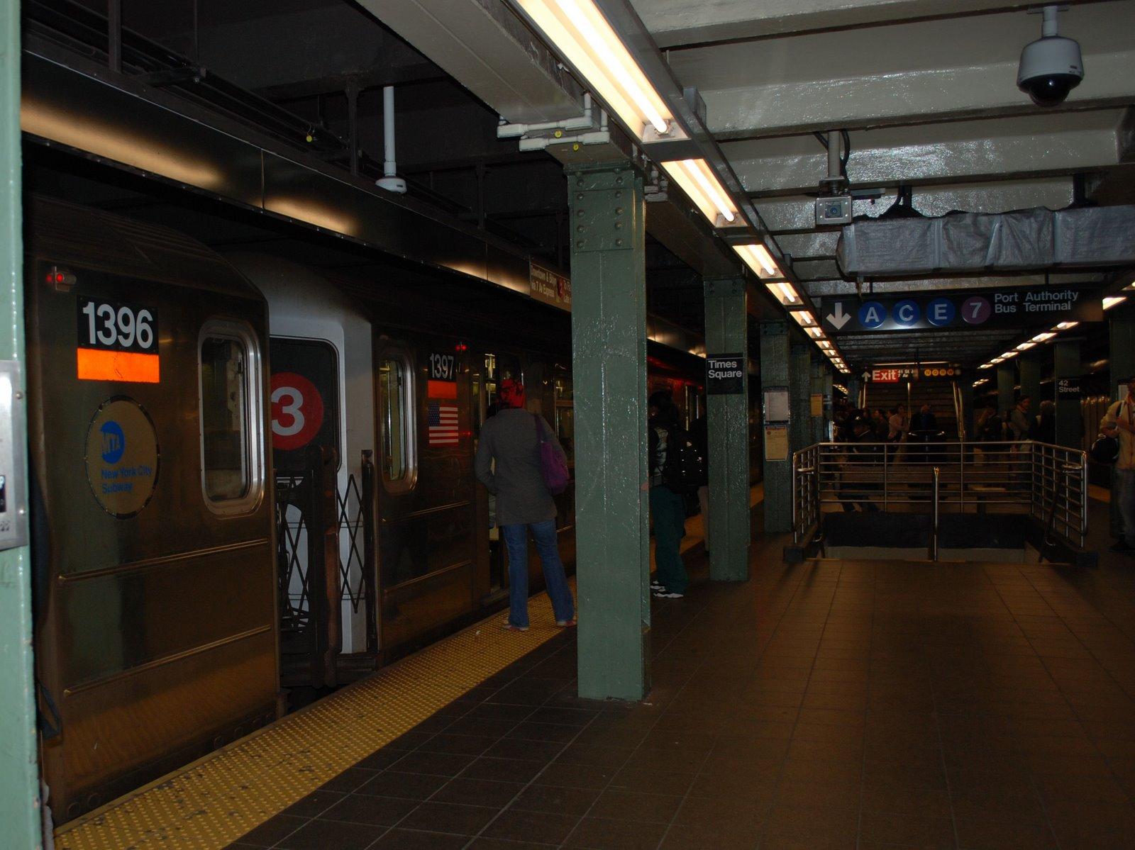 subway train, nyc
