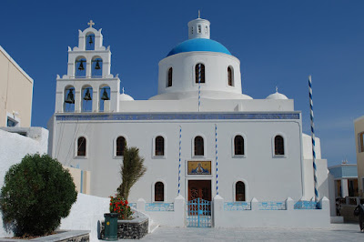 panagia of platsani church, oia, santorini
