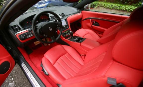Maserati Grancabrio Interior. 2010 Maserati GranCabrio