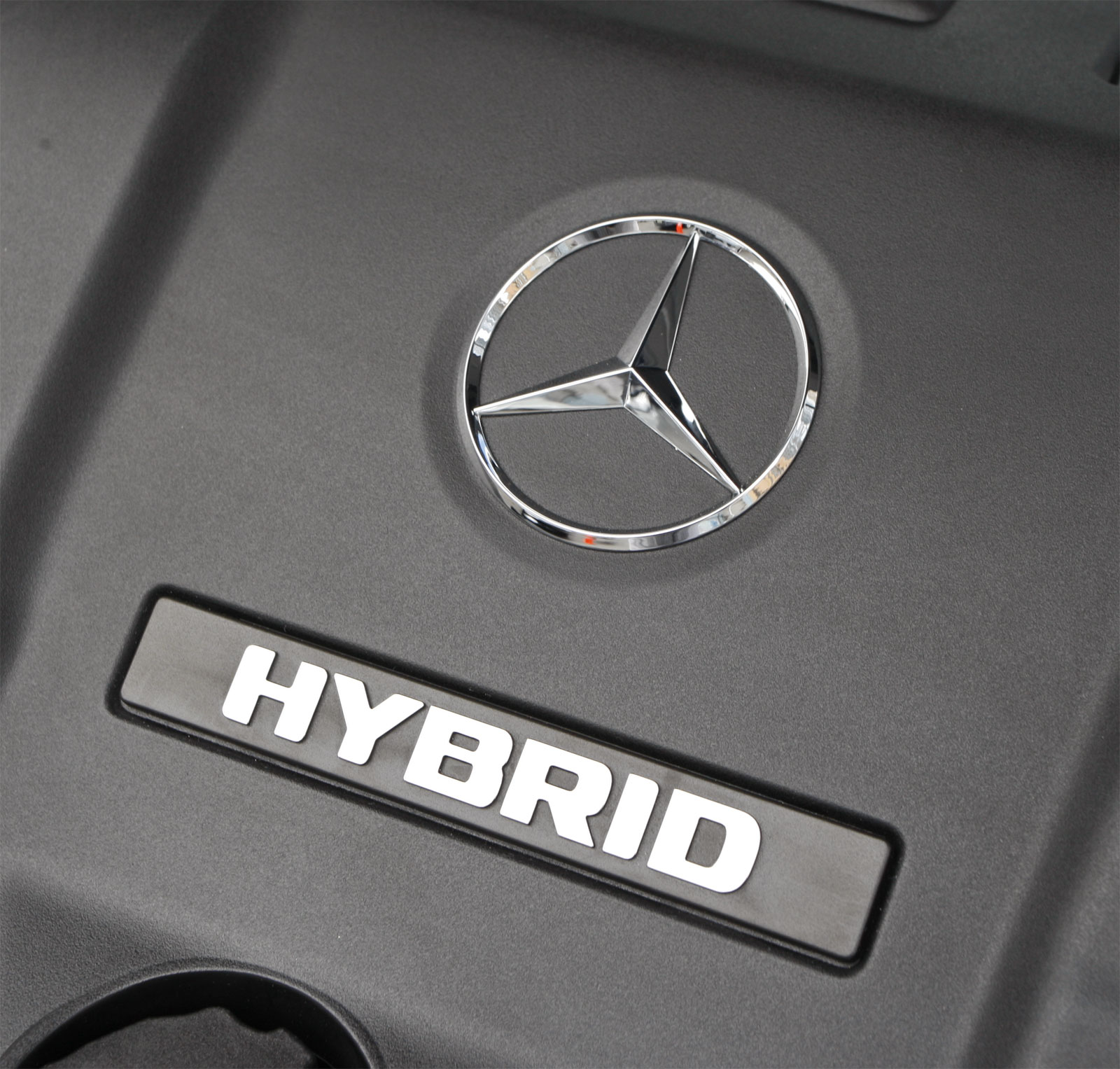 ML450 Hybrid Logo View