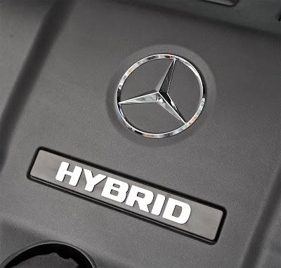 ML450 Hybrid Logo View