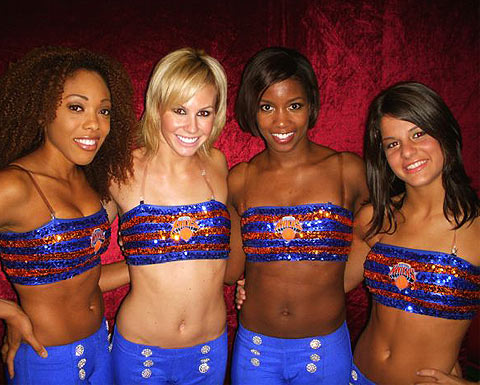 2011 new york knicks wallpaper. New York Knicks Dancer Team