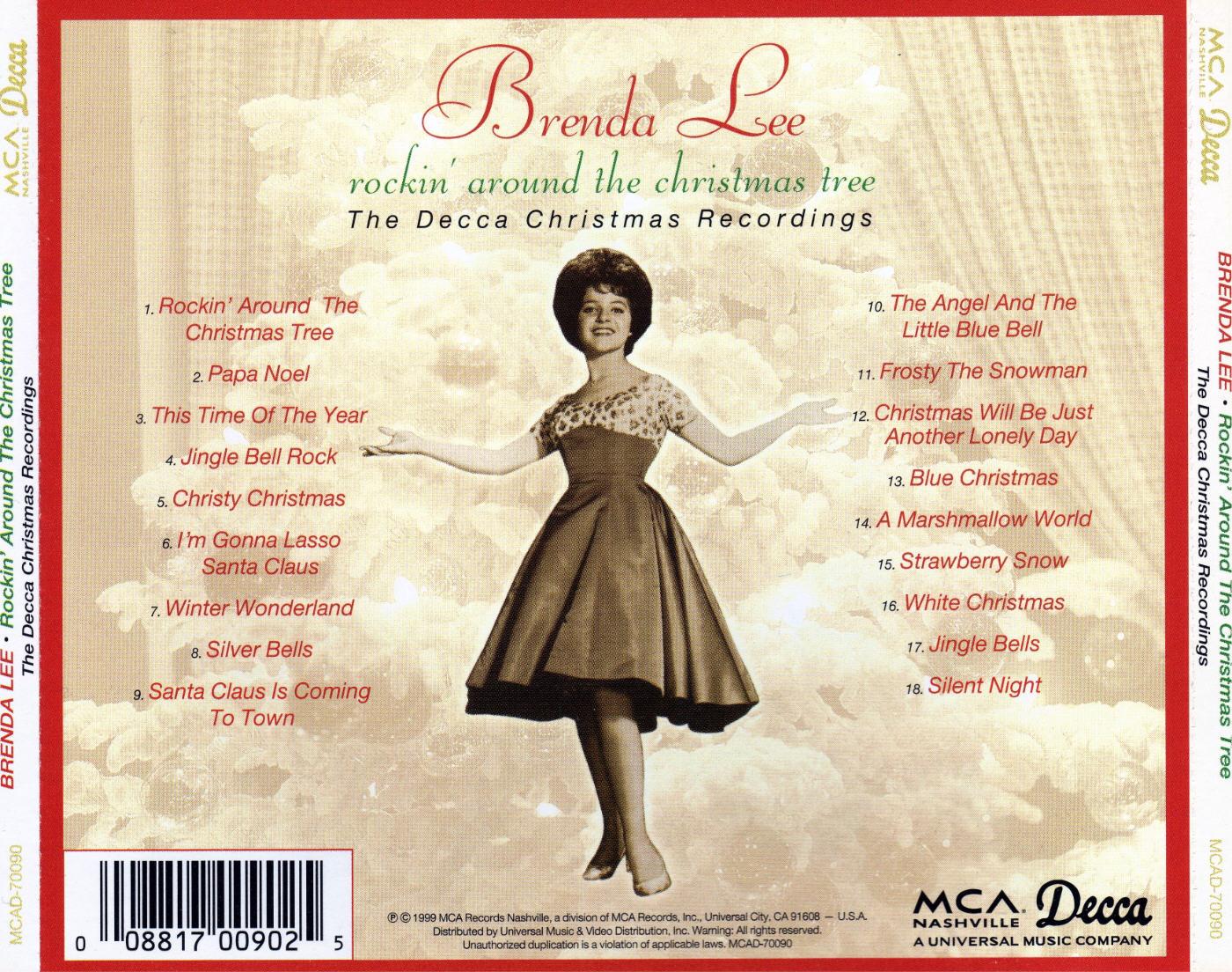 Music Archive: Brenda Lee - Rockin' Around the Christmas Tree