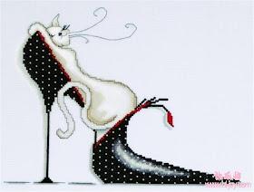 gatitos en zapatos