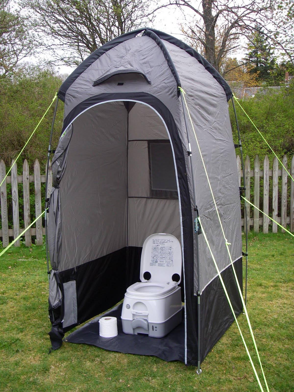 Hire a toilet and tent with your c&ervan & Big Tree Campervans: Hire a toilet and tent with your campervan