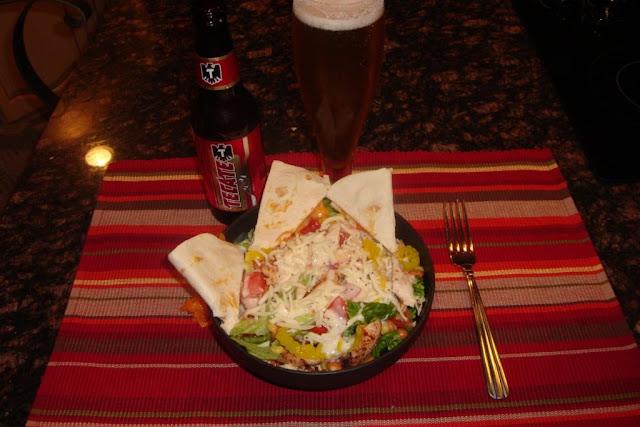 BC/Tami Mexican Cobb Salad W/Secret Sauce!!!
