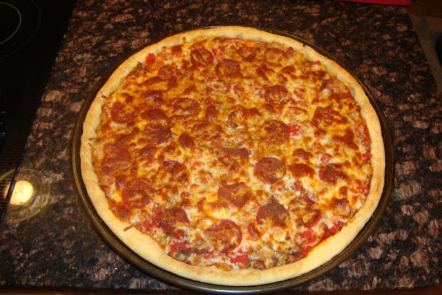 BC's Meatza Pizza!!!