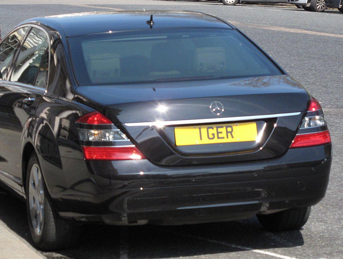 UK Car Registrations: London Diplomatic plates