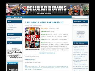 Template Celular Downs 2010 Para Wordpress