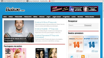 Template do Baixae Para Wordpress