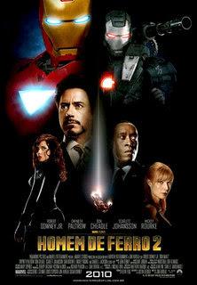 Homem De Ferro 2 DVDRip RMVB Dublado