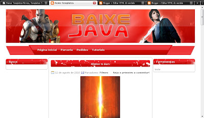Template do Baixe Java