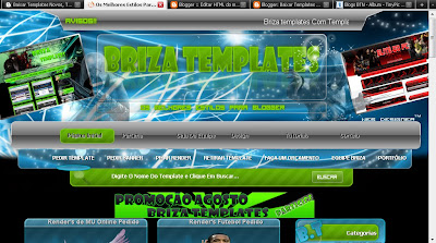 Briza Templates theme