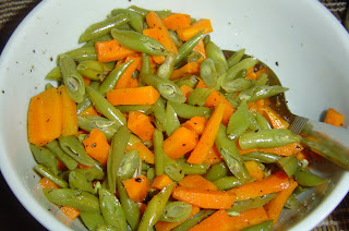 Steam Vegetables, Carrots, Beans