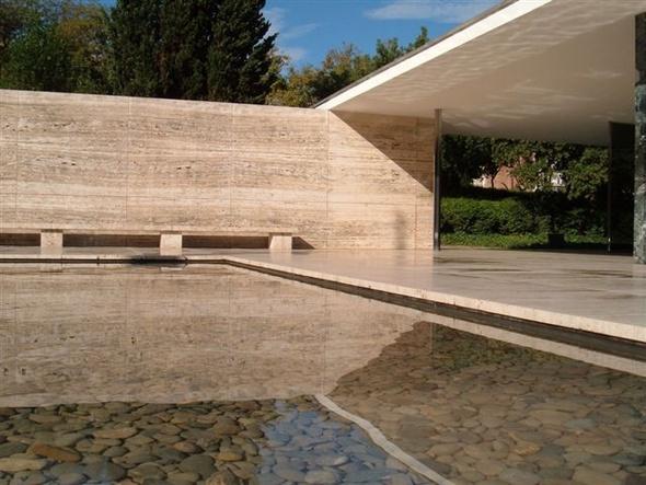 Barcelone visiter barcelone en 3 jours - Fondation mies van der rohe ...