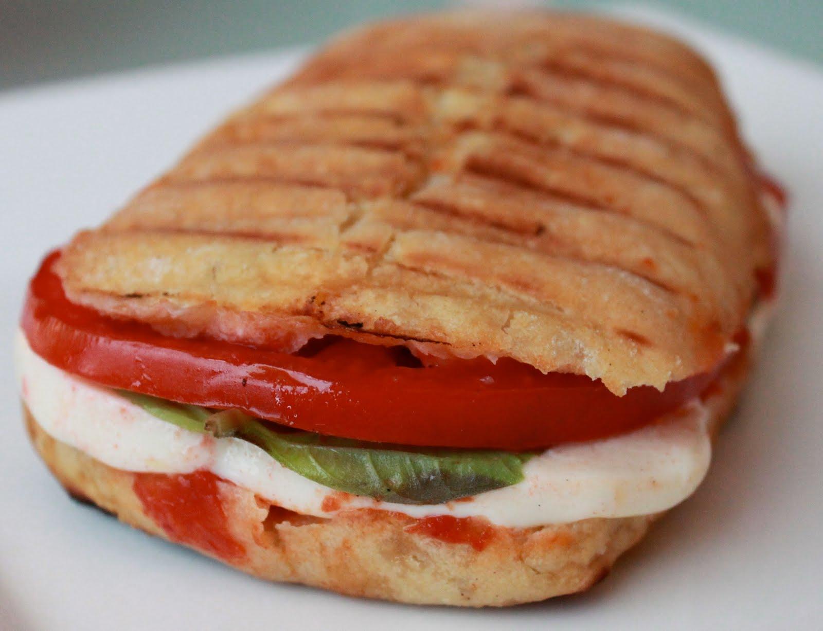 tomato panini grilled tomato panini mozzarella and tomato bread tomato ...