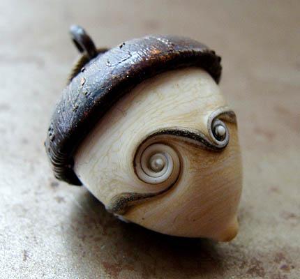 Art Bead Scene Blog: Nuts for Acorns!
