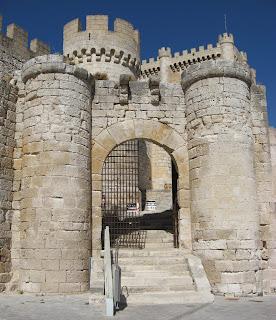 Entrada del Castillo de Peñafiel