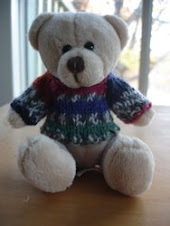 Free Pattern: Mini Teddy Bear Raglan Sweater
