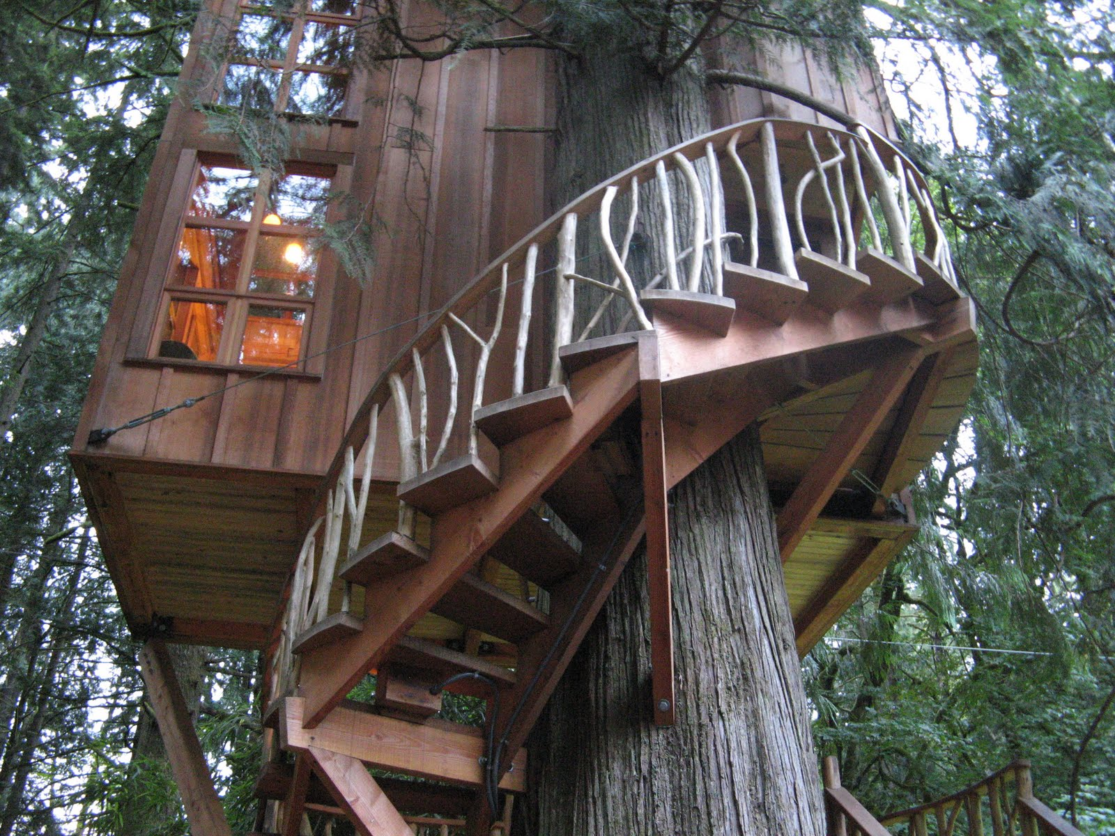 Treehouse Masters Point Luvin At T And Decorating