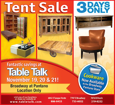 Delightful Furniture Advertisement. Copyright Table Talk.