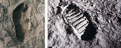 human footsetps