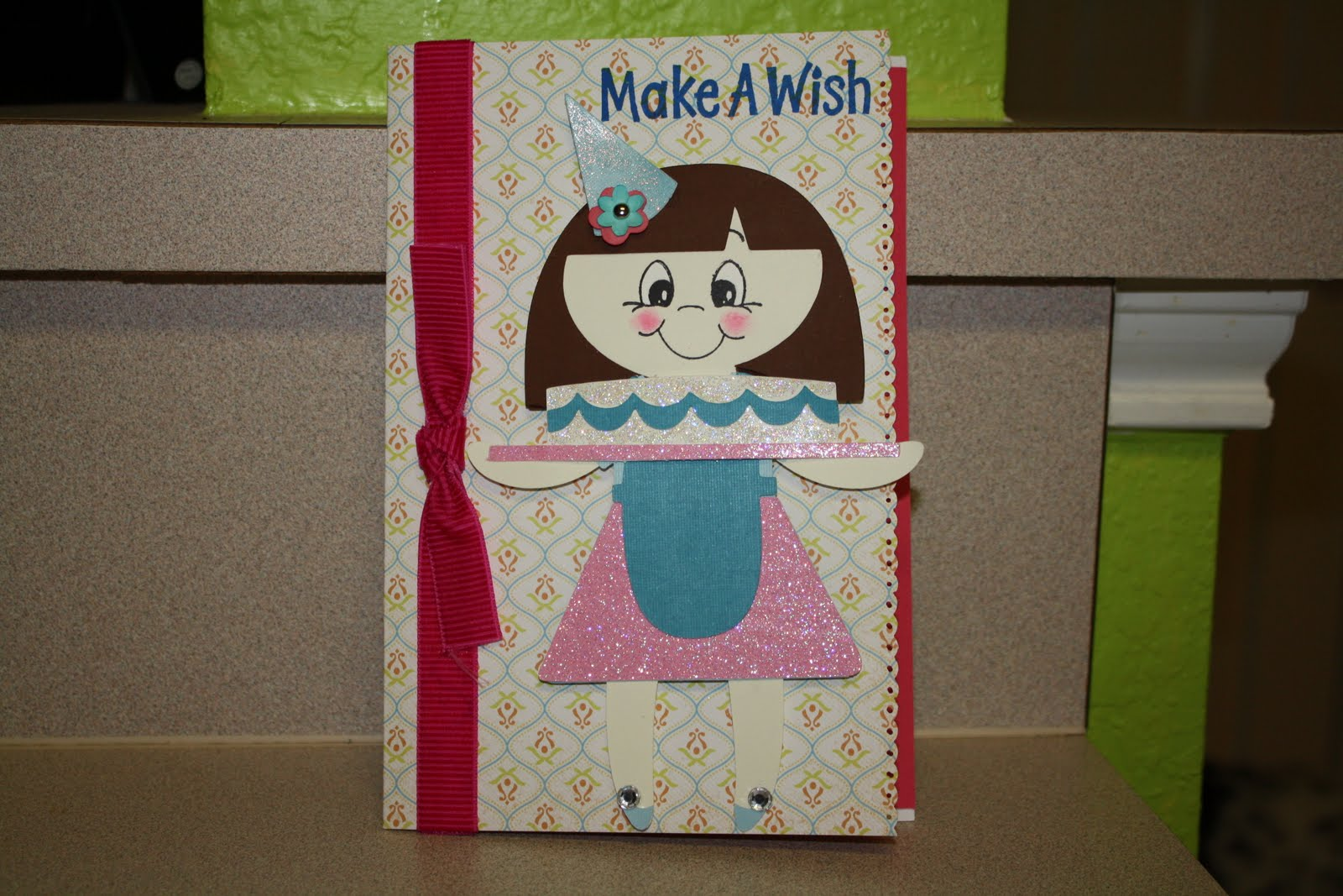 Sallie Sweet Sewing And Cricut Crafts Birthday Card For 2 Year Old