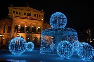 Christmas Lights on Story Book Christmas Trees  Using Led Christmas Lights Is Brilliant