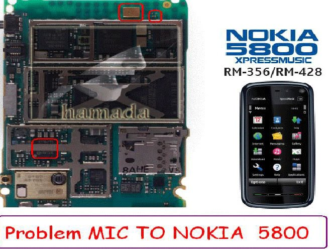 6110, Mic Microphone Ways Problem Nokia 5800 Mic Ways Problem