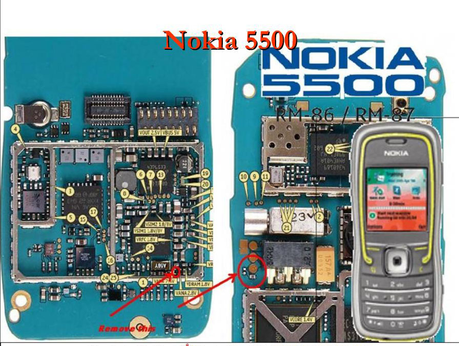 Mobile Repairing Solutions: Nokia 5500 Local Mode Solution