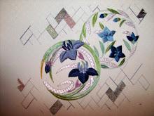 Blue Iris Circle