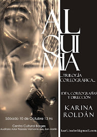 """""""Alquimia"""" trilogía coreográfica de Karina Roldán"""