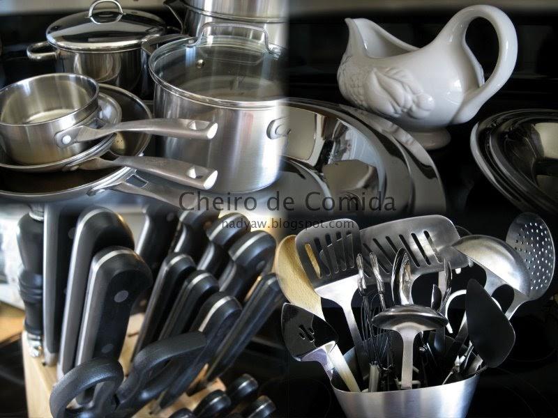 Cheiro de comida utens lios for Utensilios para servir comida