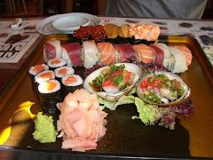 Surtido de sushi (Katsura, Marbella)