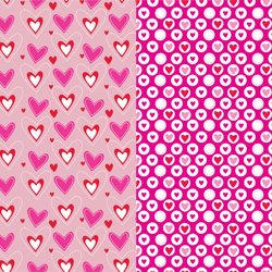 Valentine's day Printable Backgrounds