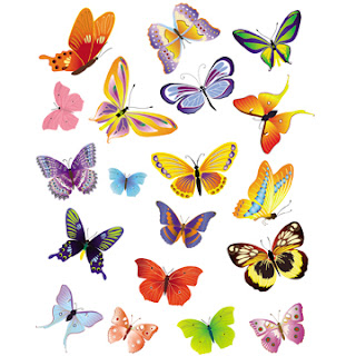 Free Clip Arts | Butterflies