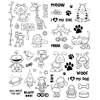Free Cute Digi Stamps