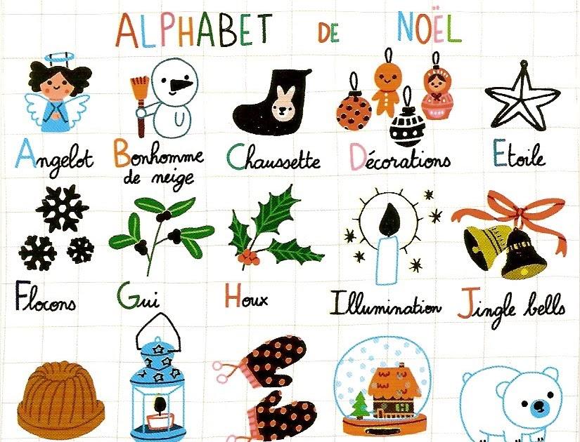 Joyeux no l l 39 alphabet de no l - Alphabet de noel ...