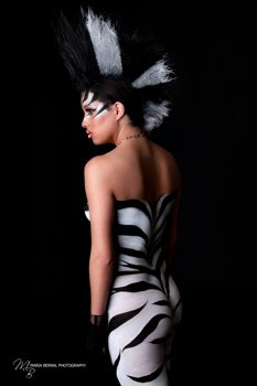 The Next Zebra In Animal Design For Body Painting Art