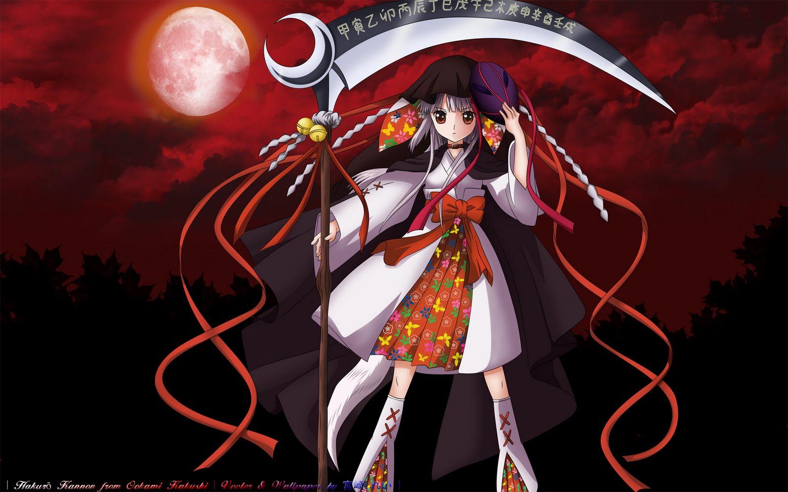 http://4.bp.blogspot.com/_4cYAM3u-vvg/S_vM07G7Q2I/AAAAAAAAGos/Nwr77KLqi-c/s1600/Konachan.com+-+72252+kushinada_nemuru+moon+ookami_kakushi+scythe.jpg