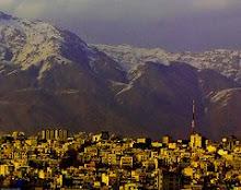 les montagnes à Téhéran