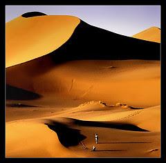 Desert  Dasht-e-Kavir en Iran