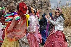 Nommades ghashghaee en Iran