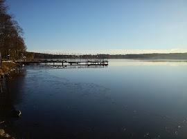 Lindesjön en dag i november 2010