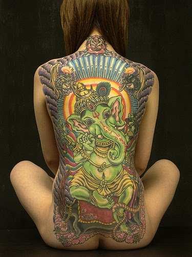 Lord Ganesh Tattoo by .