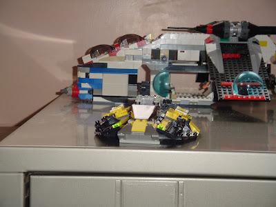 lego republic gunship 2008 instructions
